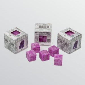Lemon Scented Cube Wax Melts - Reval Candle - Scented Cubes from thetraditionalgiftshop.com