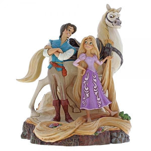 Live Your Dream (Carved by Heart Rapunzel & Prince) - Disney Traditions from thetraditionalgiftshop.com