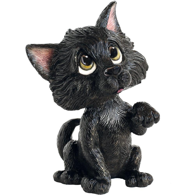 Lucky - Black Cat - Little Paws from thetraditionalgiftshop.com