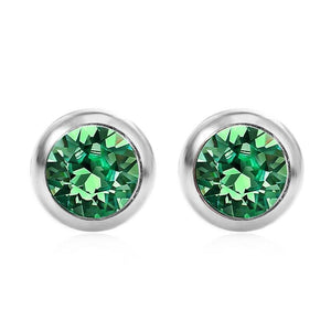 May Solitare Swarovski Birthstone Earrings - Pure by Coppercraft from thetraditionalgiftshop.com