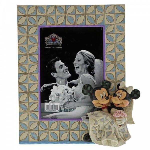 Mickey & Minnie Wedding Frame