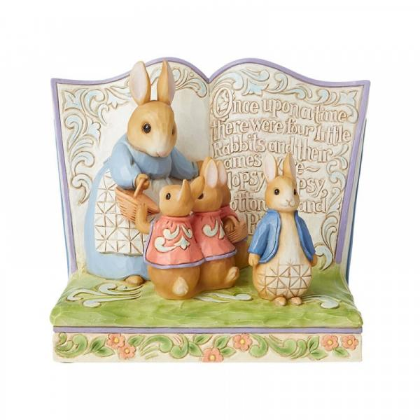 Once Upon a Time There Were Four Little Rabbits (Peter Rabbit Storybook) - Beatrix Potter by Jim Shore from thetraditionalgiftshop.com