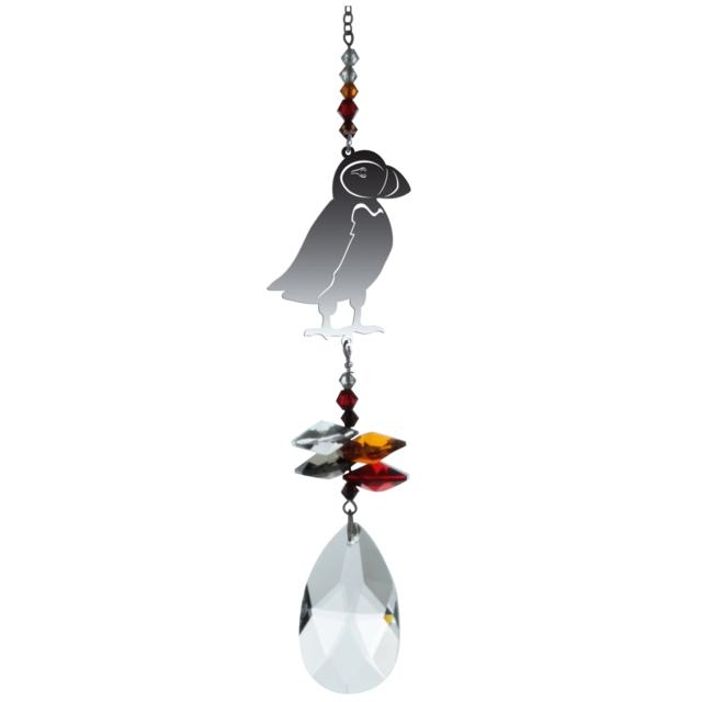 Puffin Crystal Fantasies Suncatcher