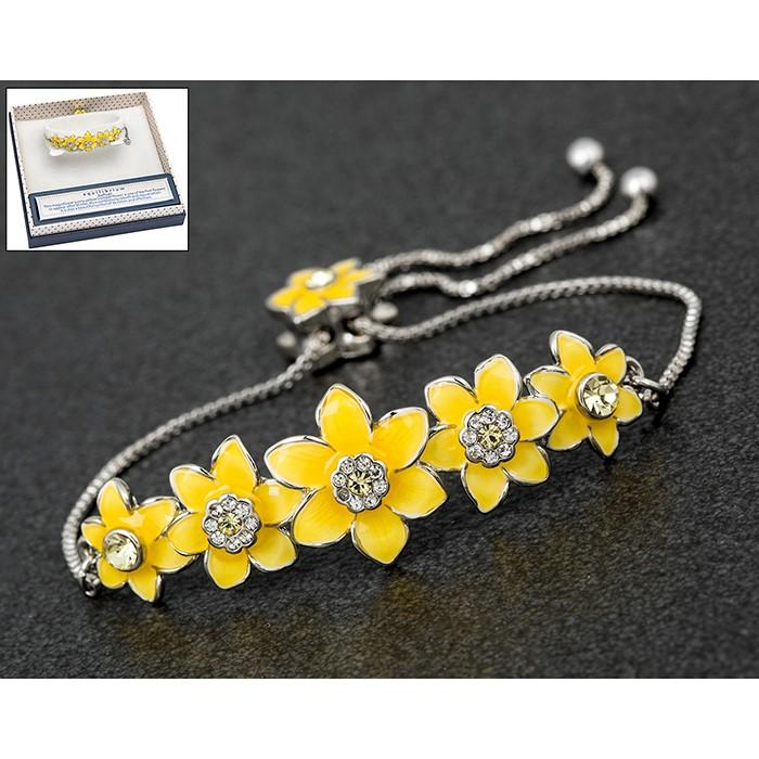 Radiant Daffodil Friendship Bracelet