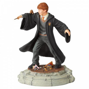 Ron Weasley Year One Figurine - Wizarding World of Harry Potter from thetraditionalgiftshop.com