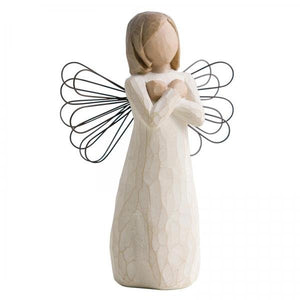 Sign for Love Angel - Willow Tree from thetraditionalgiftshop.com