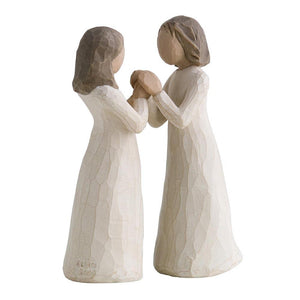 Sisters by Heart - Willow Tree from thetraditionalgiftshop.com