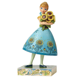 Spring in Bloom (Frozen Fever Anna) - Disney Traditions from thetraditionalgiftshop.com
