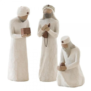 The Three Wisemen - Willow Tree from thetraditionalgiftshop.com