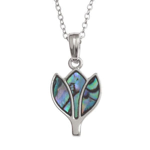 Tulip Paua Shell Necklace - Tide Jewellery from thetraditionalgiftshop.com