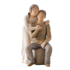 You and Me - Willow Tree from thetraditionalgiftshop.com