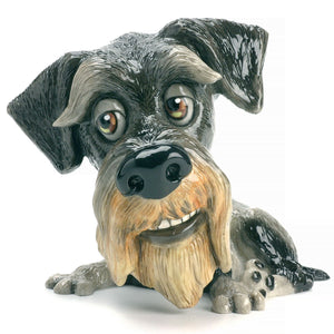 Zak - Schnauzer Grey - Little Paws from thetraditionalgiftshop.com