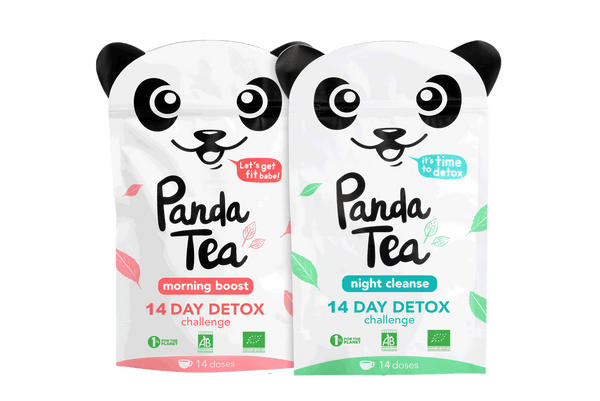 panda tea th d tox minceur biologique 14 ou 28 jours panda tea th biologique d tox. Black Bedroom Furniture Sets. Home Design Ideas