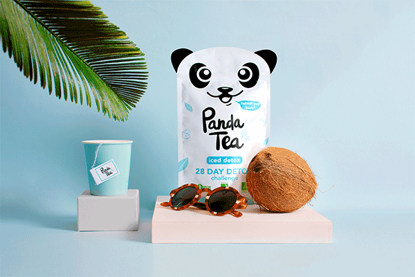 Panda Tea Detox Challenge Good For Your Body Good For The Planet