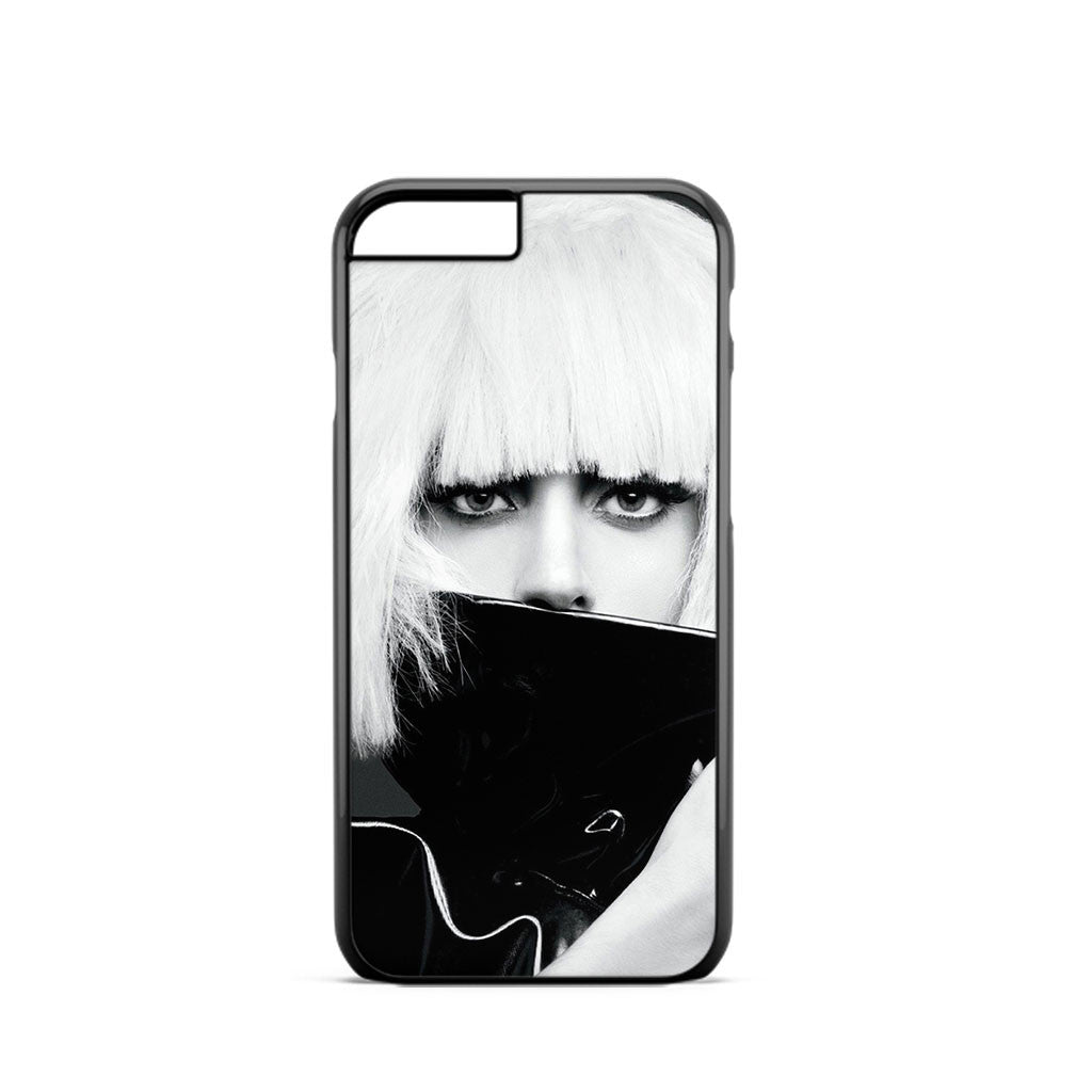 Lady Gaga Black And White iPhone 6 Case