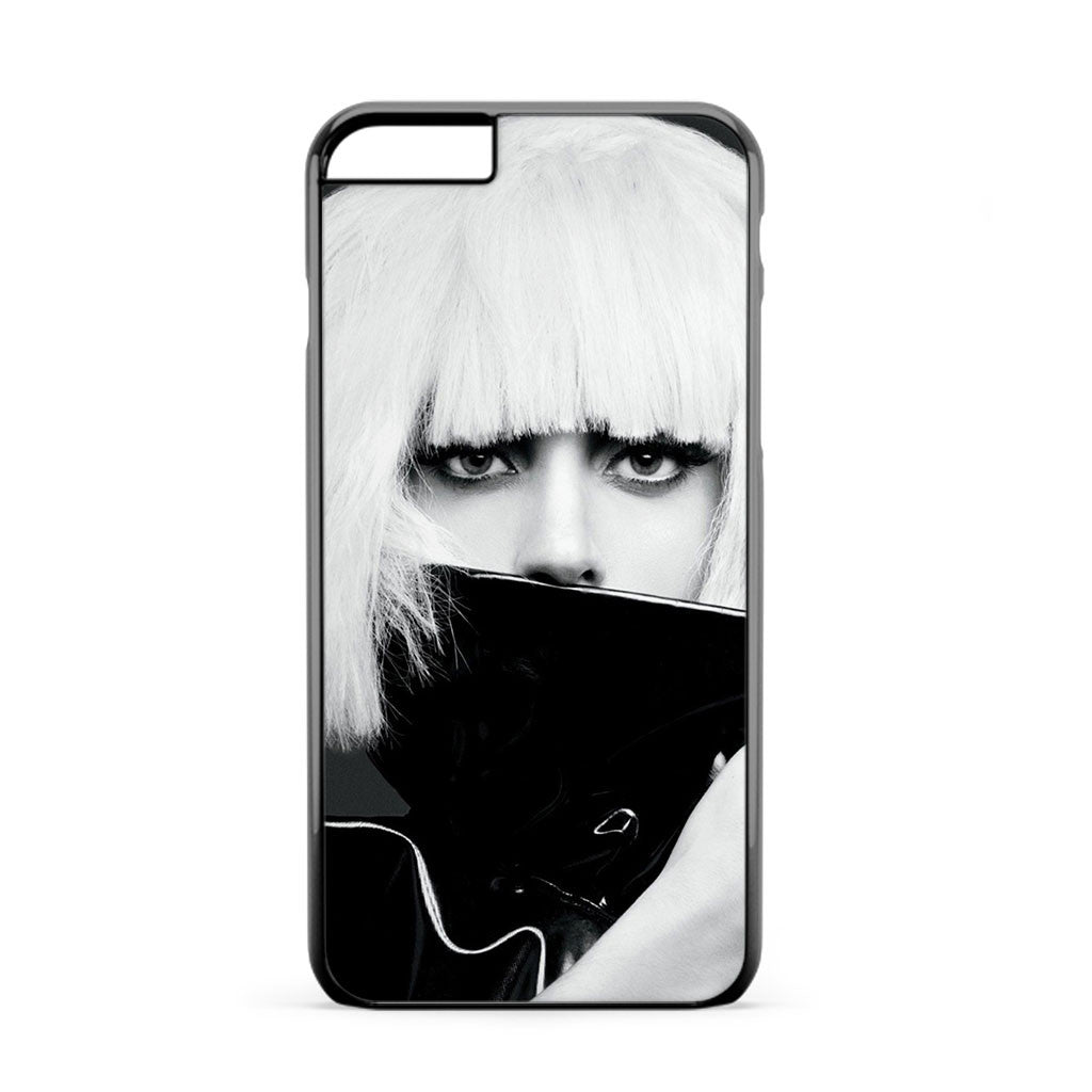 Lady Gaga Black And White iPhone 6 Plus Case
