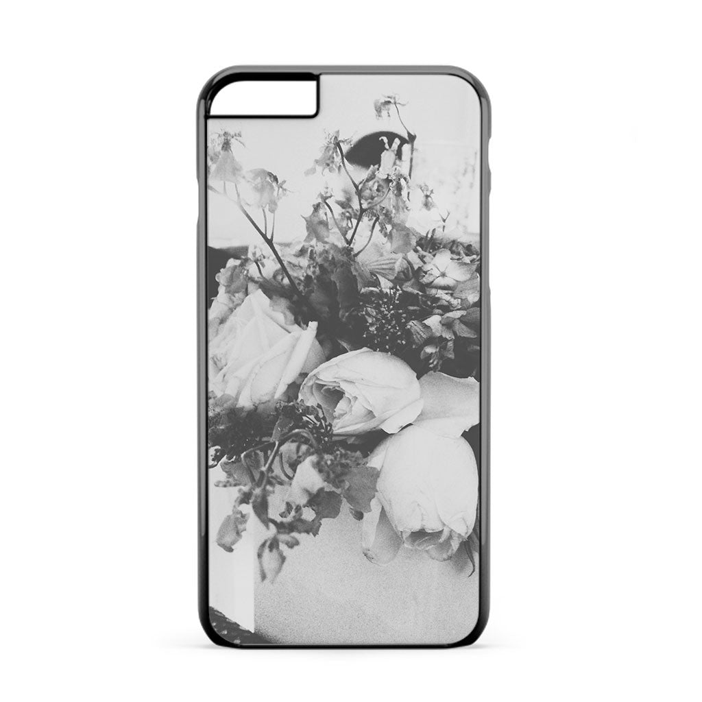 Black And White Roses iPhone 6s Plus Case