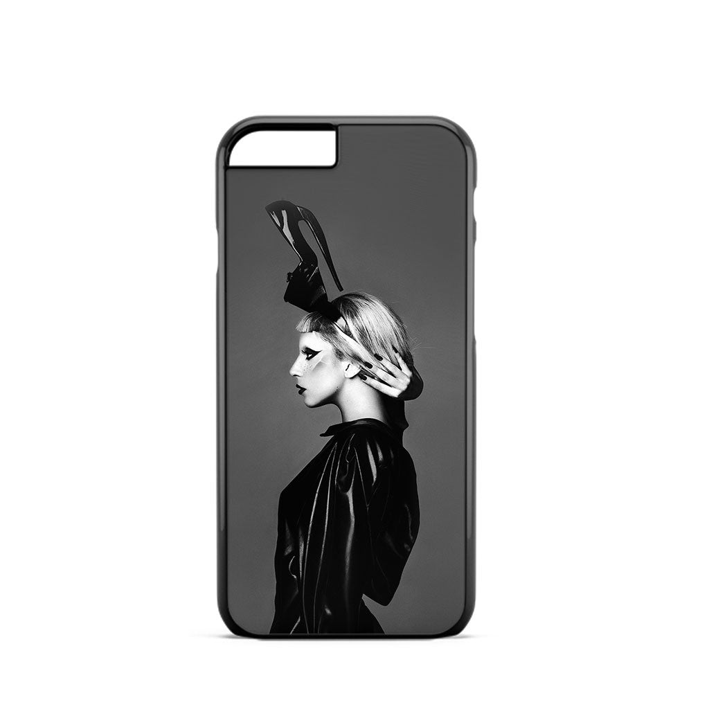Lady Gaga Black White iPhone 6 Case