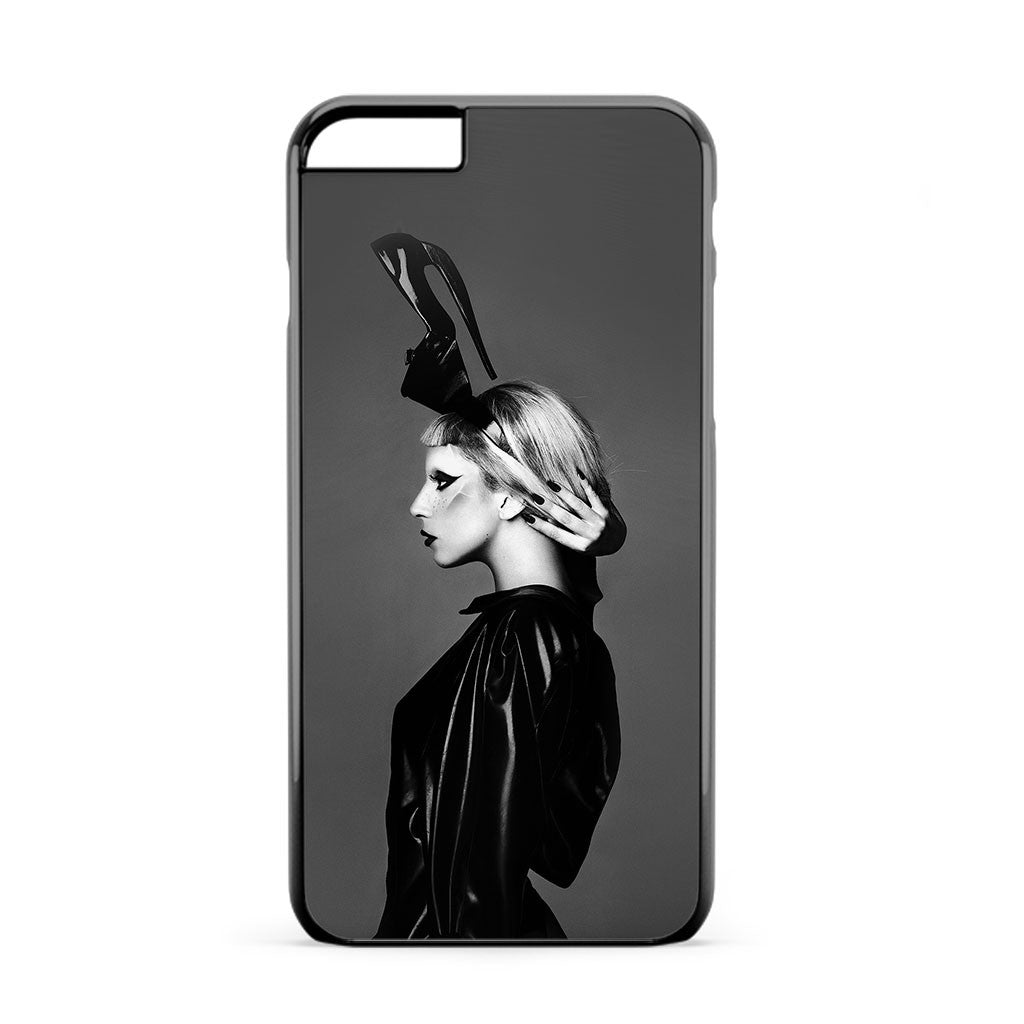 Lady Gaga Black White iPhone 6s Plus Case