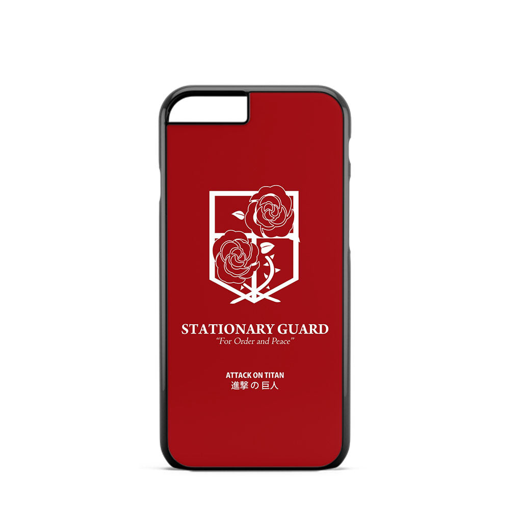 Attack on Titan Stasionary Guard Logo iPhone 6 Case