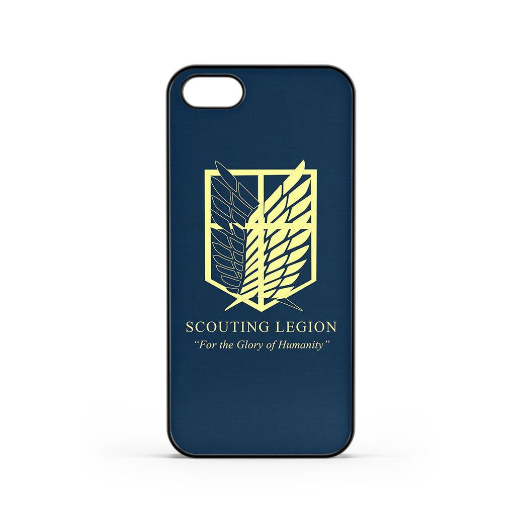 Attack on Titan Scouting Legion Logo iPhone 5 / 5s / SE Case