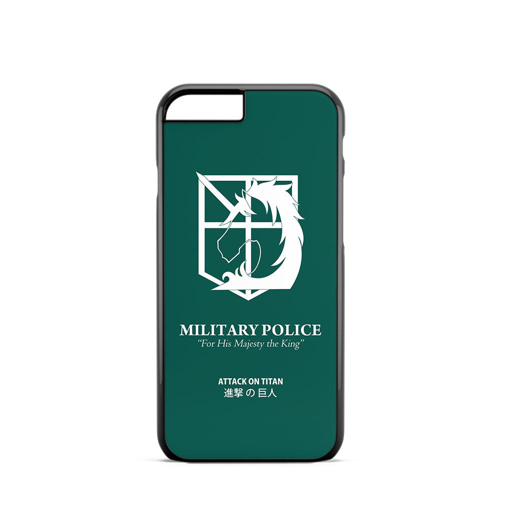 Attack on Titan Military Police iPhone 6 Case