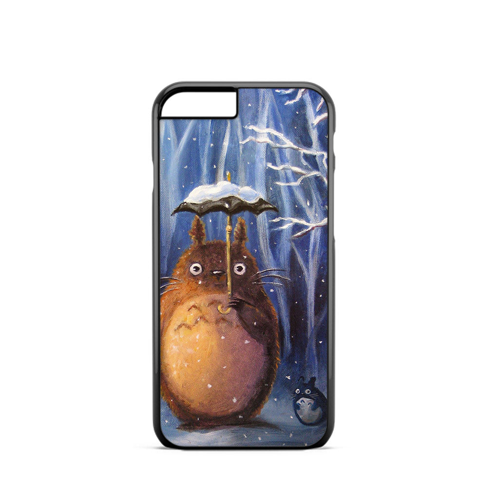 Totoro Snow Painting iPhone 6 Case