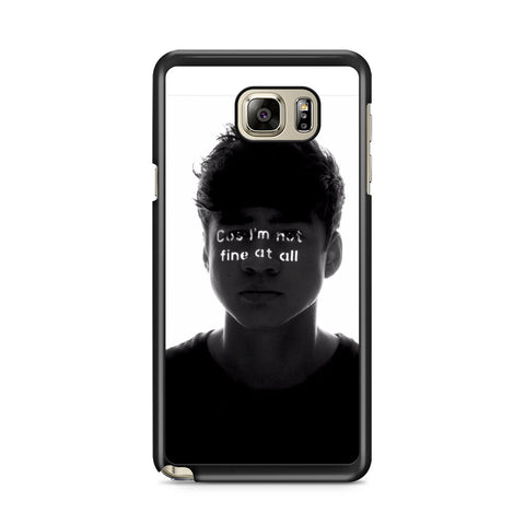 5 Seconds of Summer 5SOS Amnesia Samsung Galaxy Note 5 Case