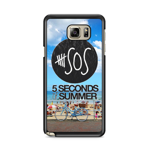 5 Seconds of Summer 5SOS Album Beach Samsung Galaxy Note 5 Case