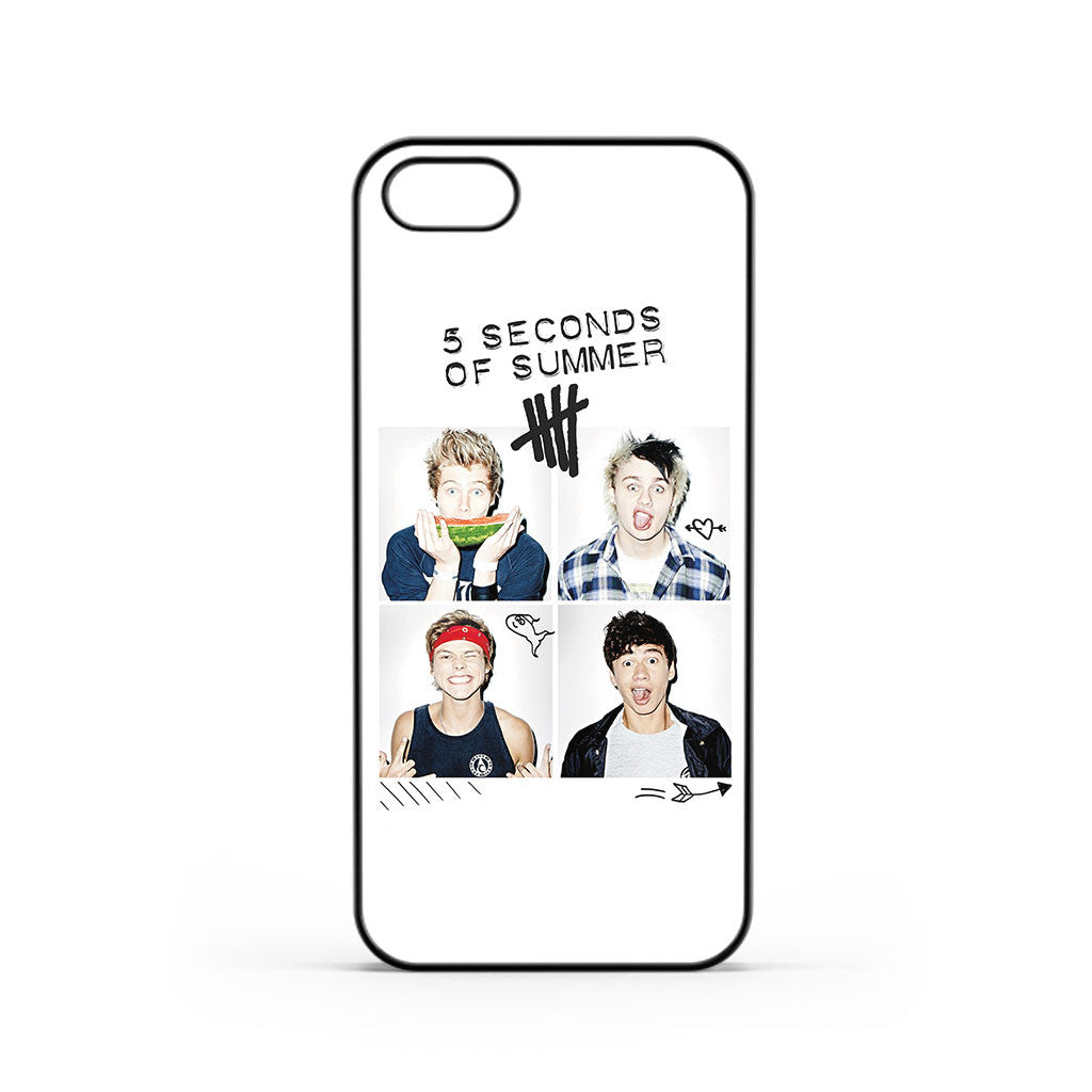 5 Seconds of Summer 5SOS Cover iPhone 5 / 5s / SE Case