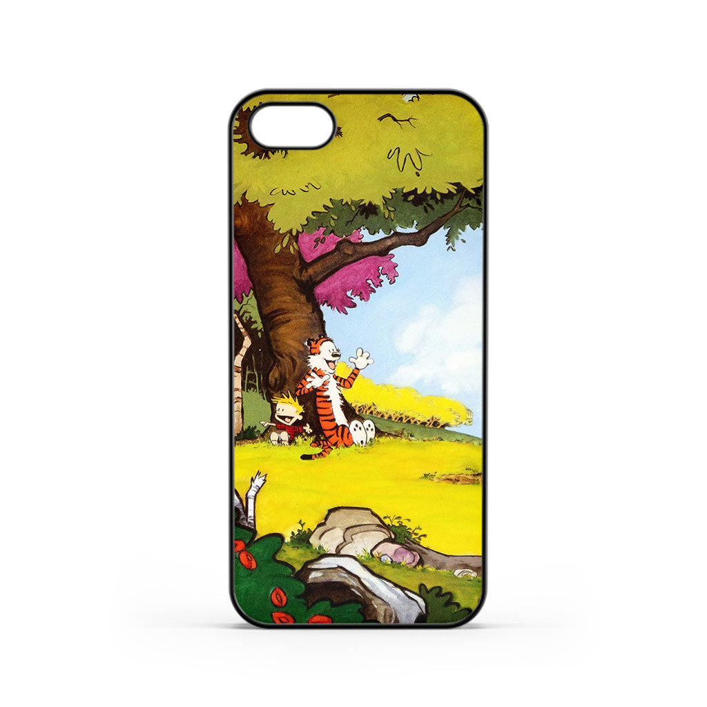 Calvin and Hobbes Nature iPhone 5 / 5s / SE Case