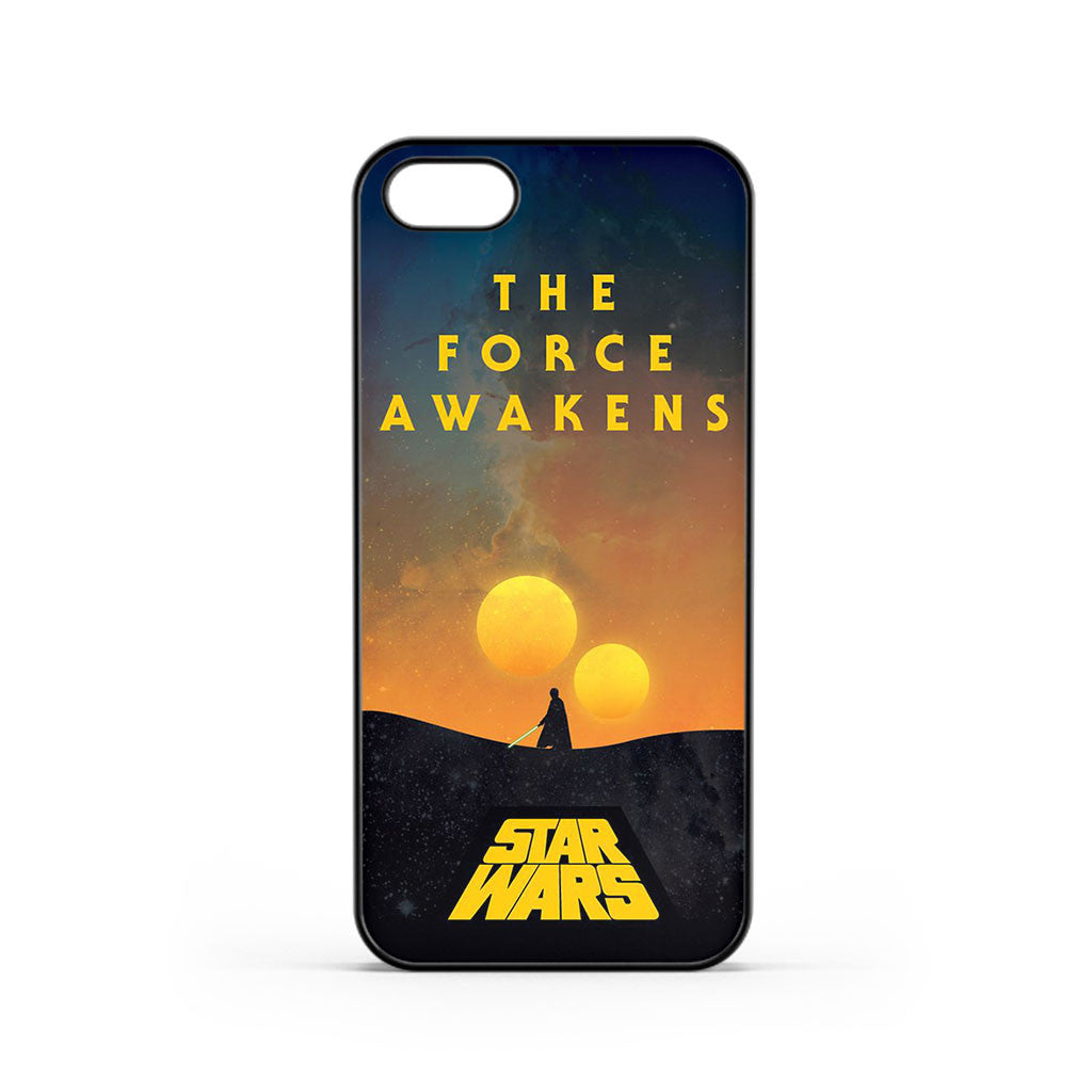Star Wars The Force Awakens Simple Poster iPhone 5 / 5s / SE Case
