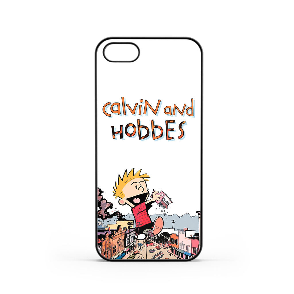 Calvin And Hobbes City Toys iPhone 5 / 5s / SE Case