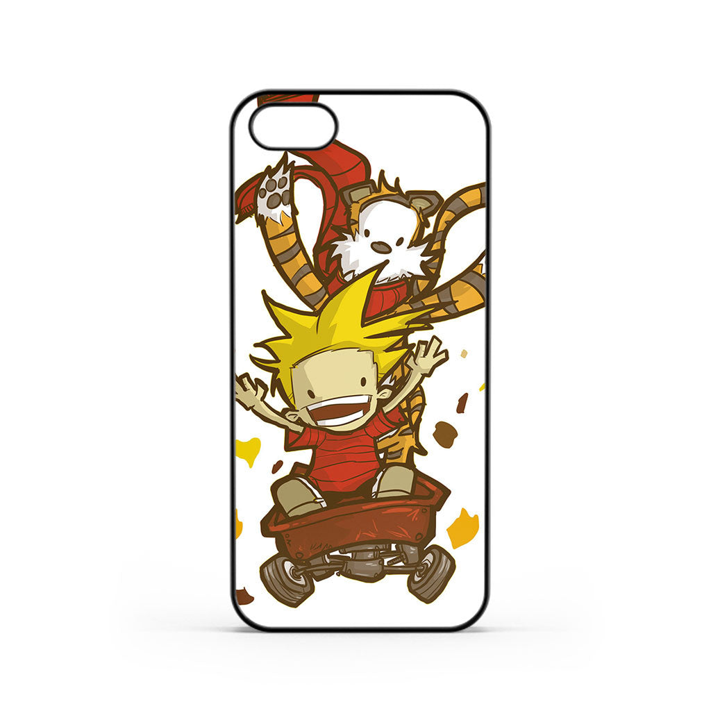 Calvin And Hobbes Race iPhone 5 / 5s / SE Case