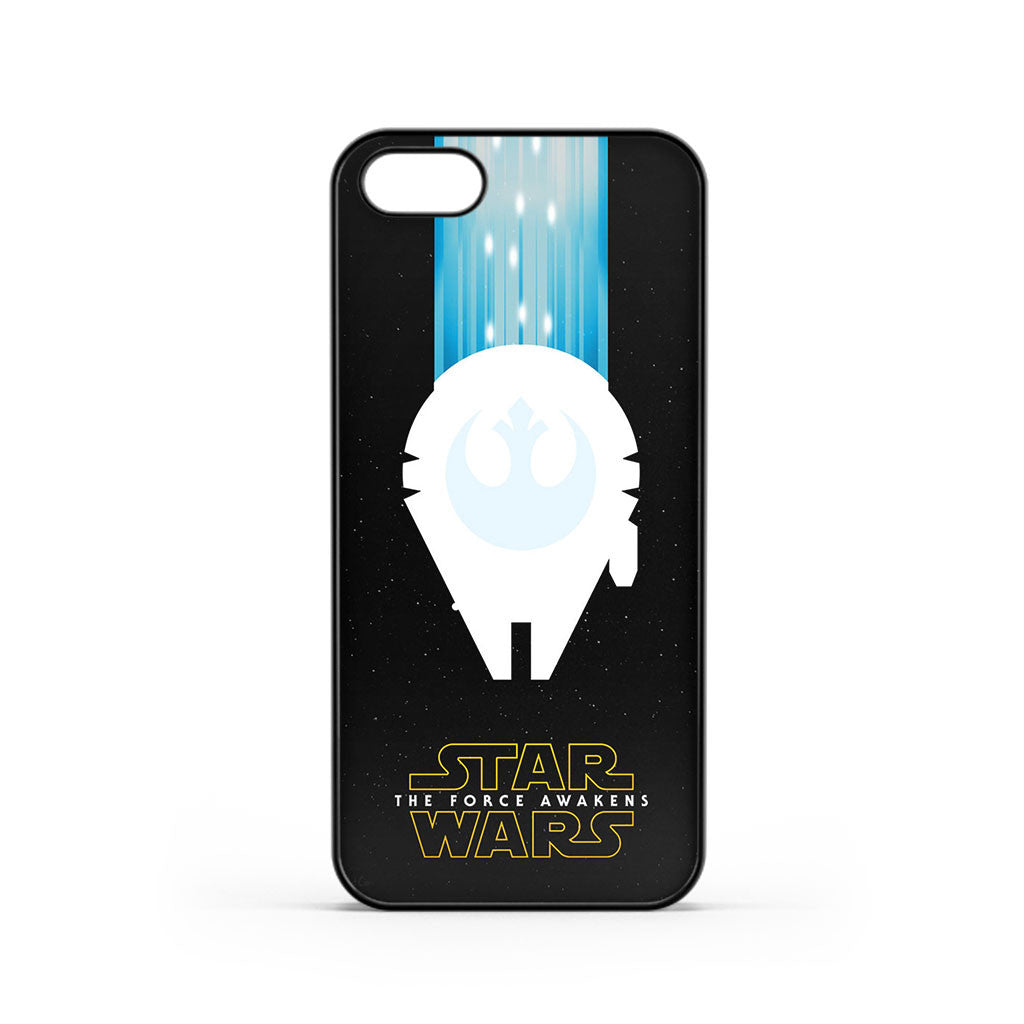 Star Wars The Force Awakens Millenium Falcon iPhone 5 / 5s / SE Case