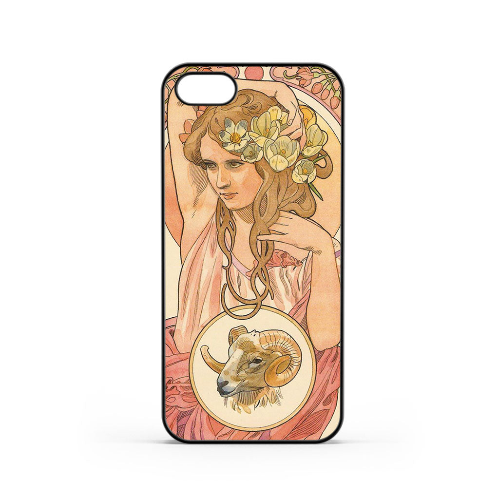 Zodiac Art Aries iPhone 5 / 5s / SE Case
