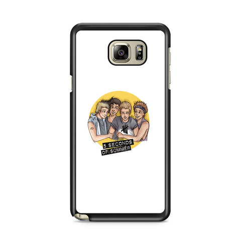 5 Seconds of Summer 5SOS Artwork Samsung Galaxy Note 5 Case