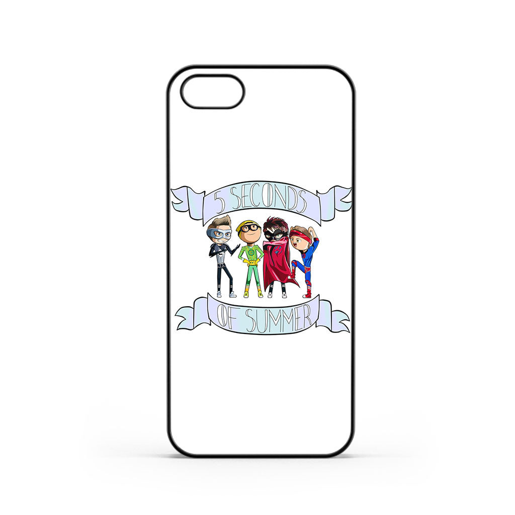 5 Seconds of Summer 5SOS Cartoon iPhone 5 / 5s / SE Case