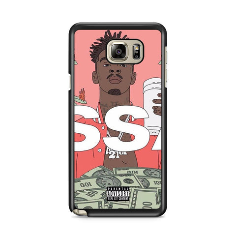 21 Savage Issa Album Galaxy Note 5 Case
