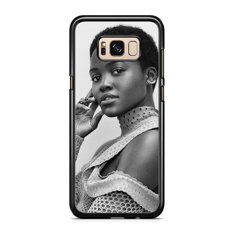 Lupita Nyong'o Portrait Samsung Galaxy S8 Plus Case