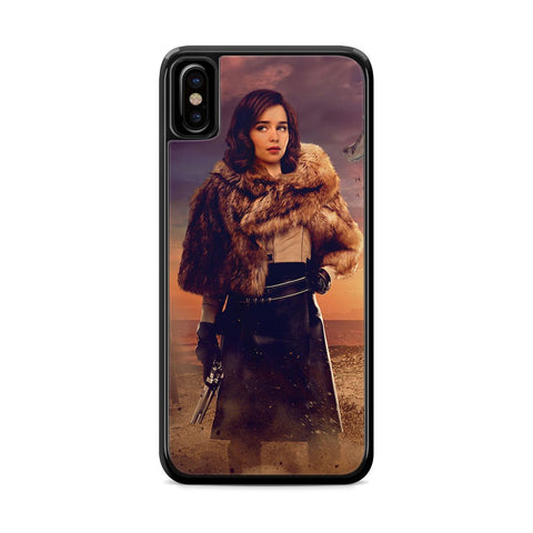 Solo a Star Wars Story Qira iPhone X Case