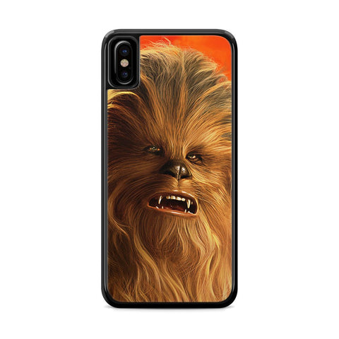 Star Wars Solo Chewbacca iPhone X Case
