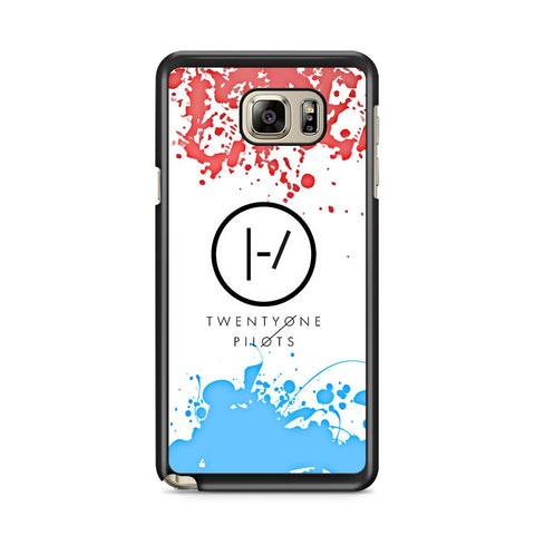 21 Pilots Red Blue Galaxy Note 5 Case