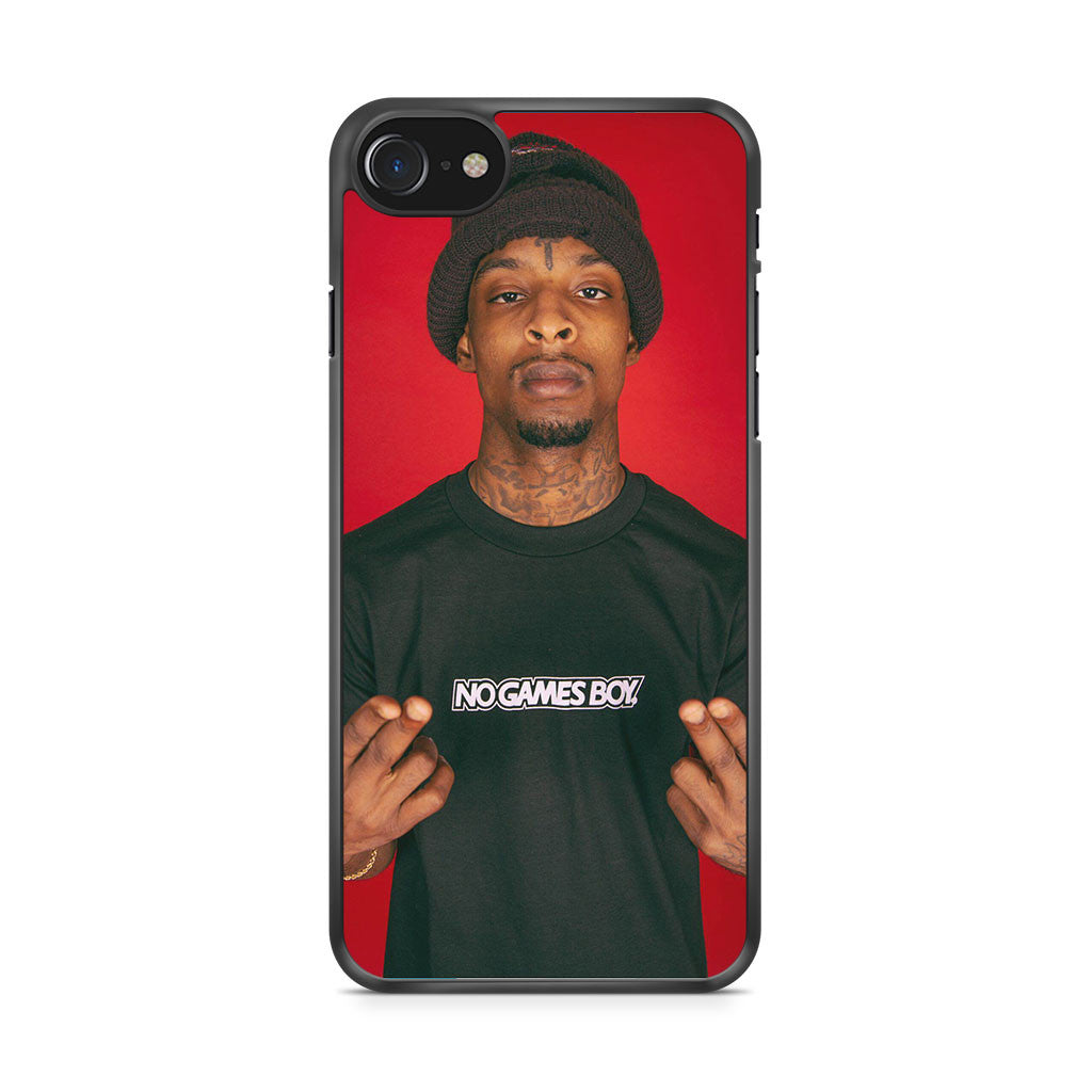 21 Savage HipHop iPhone 7 Case