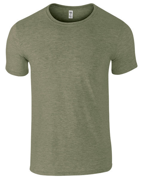 Soft Blend Fitted T Shirt
