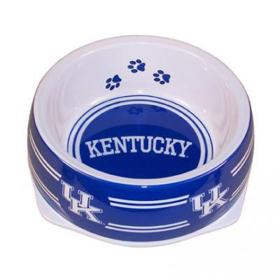 Kentucky Wildcats Dog Bowl-Plastic