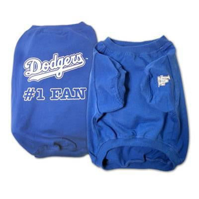 Los Angeles Dodgers Dog Tee Shirt - Deluxe