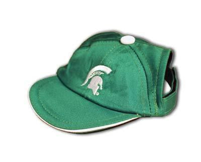 Michigan State Spartans Dog Cap-Deluxe