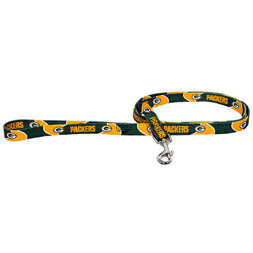Green Bay Packers Dog Leash-Nylon