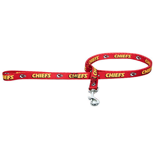 Kansas City Chiefs Dog Leash-Nylon